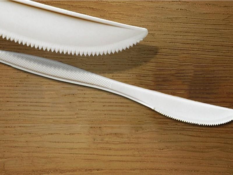 Talher de Bioplástico Biodegradável