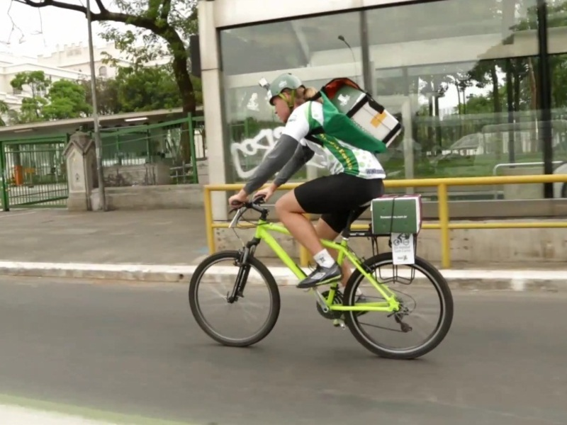 Entregas Ecológicas via Bicicleta