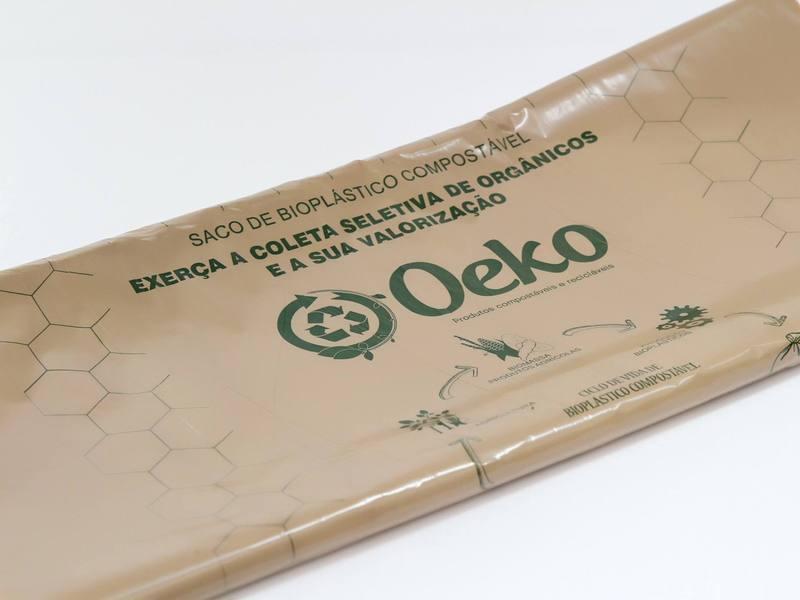 Sacos de Bioplástico Compostáveis