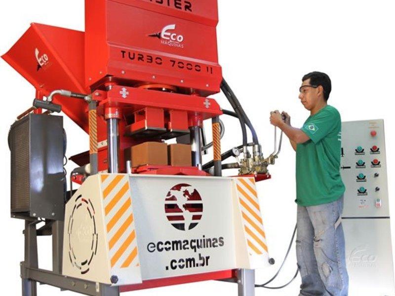 Máquinas para Tijolos Sustentáveis