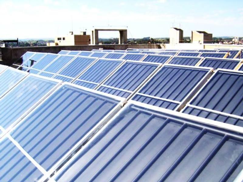Sistema de Aquecimento Solar de Água