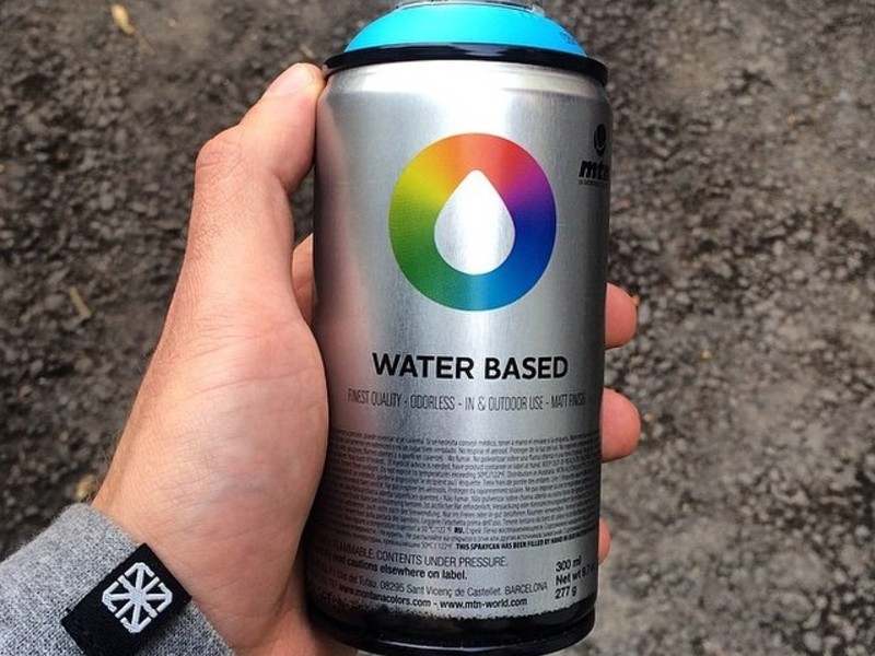 Tinta Spray à Base D'água