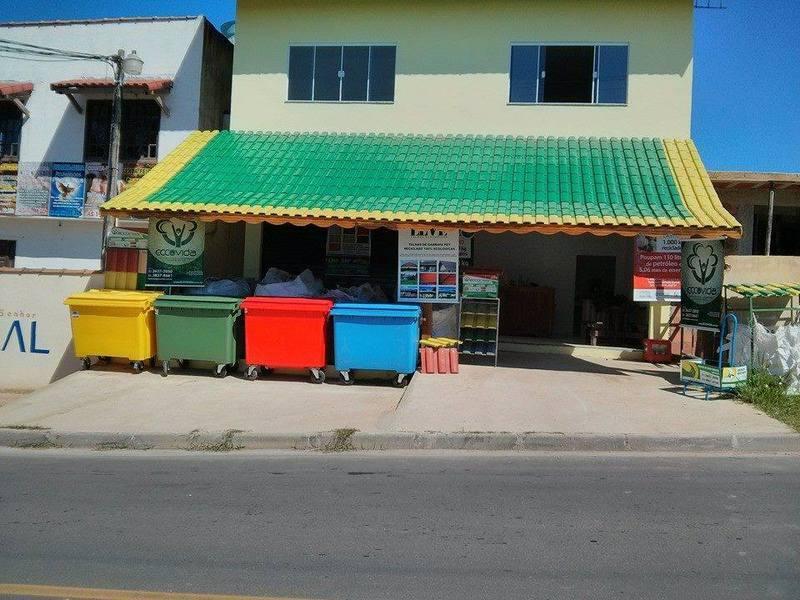ECCO PONTO BRASIL SUSTENTÁVEL - Postos de Coleta Seletiva