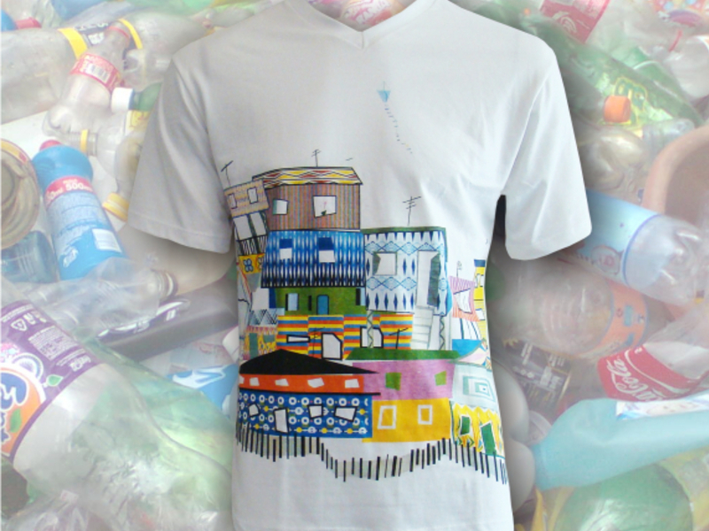 Camisas em malhas sustentáveis