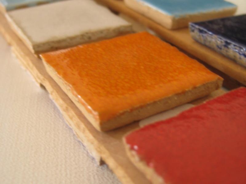 Pastilhas cerâmicas