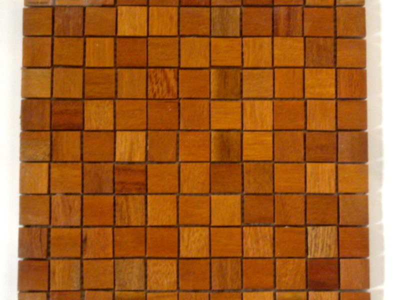 Pastilhado de madeira