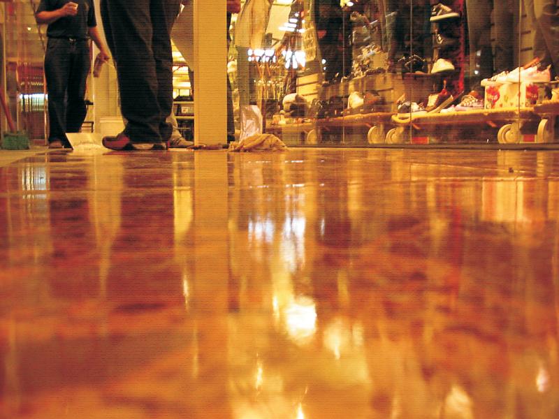 Revestimento para pisos laváveis