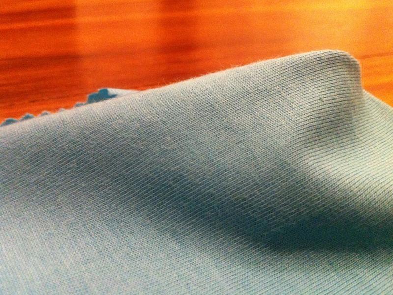 Malha de algodão orgânico