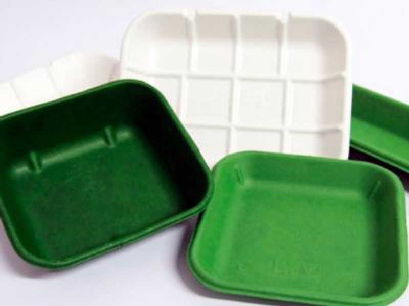 Embalagens e pratos compostáveis
