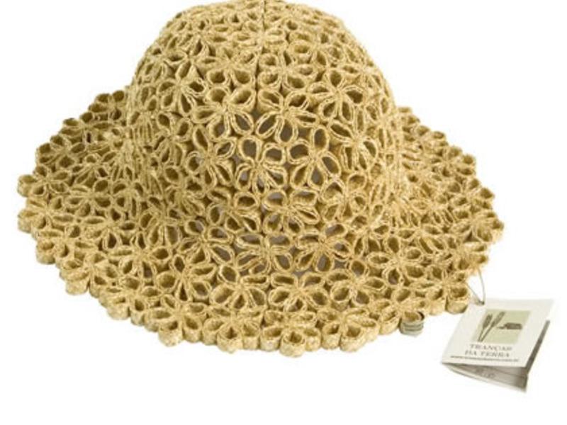 Artesanato em palha de trigo