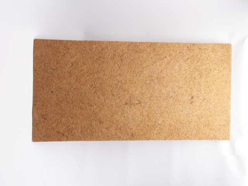 Placa acústica de fibra de coco