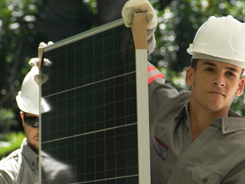 Sistema Fotovoltaico ligado à rede