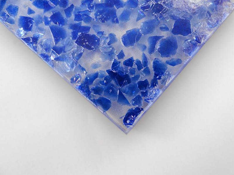 Painéis de eco-resina